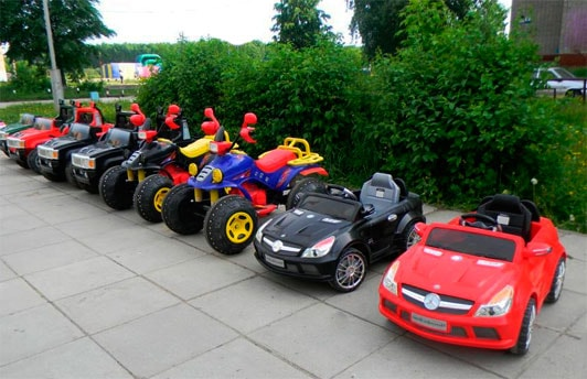 прокат детских электромобилей бизнес